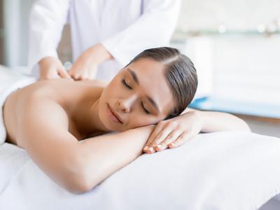 Masaje antiestrés con aromaterapia